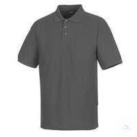 Polo-Shirt Borneo 00783260-18 dunkelanthrazit Größe XS Rippenbündchen am...