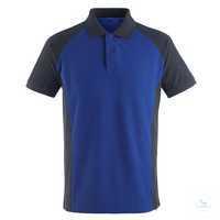 Polo-Shirt Bottrop 50569961-11010 kornblau-schwarzblau Größe XS Zweifarbig....