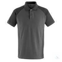Polo-Shirt Bottrop 50569961-1809 dunkelanthrazit-schwarz Größe XS Zweifarbig....