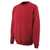 Sweatshirt Caribien 00784280-02 rot Größe XS Das Sweatshirt mit gekämmter...