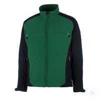Softshell Jacke Dresden 12002149-0309 grün-schwarz Größe XS Atmungsaktiv,...