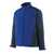 Softshell Jacke Dresden 12002149-11010 kornblau-schwarzblau Größe XS...