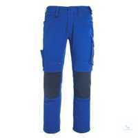 BundhoseErlangen 12179203-11010 kornblau-schwarzblau Größe 42 Zweifarbig....
