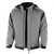 Pro-Softshelljacke 201041 grau-schwarz Größe XS Stehkragen mit 2...