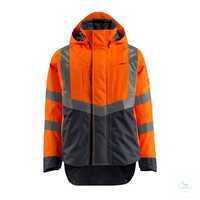 Arbeits-JackeHarlow 15501-231-14010 hi-visorange-schwarzblau Größe S...