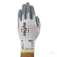 HyFlex® Nitril Nylon 11-800 Größe 10 Äußerst atmungsaktiv, hohe...