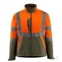 Softshelljacke Kiama 15902-253-1433 hi-vis orange-moosgrün Größe S...