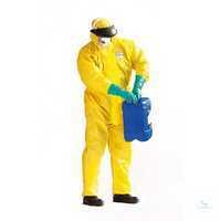 KLEENGUARD® A71 Overall gelb 96760 Größe M Chemikalienschutzanzug Typ 3/4/5,...