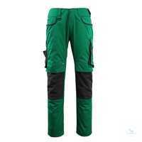 Hose Lemberg 13079-230-0309 grün-schwarz Größe 42 Strapazierfähige, dreifache...
