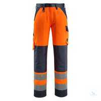 Arbeits-HoseMaitland 15979-948-14010 hi-visorange-schwarzblau Größe 44...