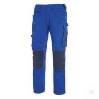 Hose Mannheim 12679442-11010 kornblau-schwarzblau Größe 42 Zweifarbig....