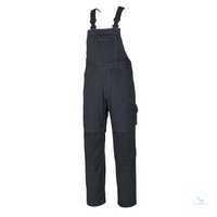 Latzhose Newark 10569442-10 schwarzblau Größe 46 Dreifache Kappnähte an den...