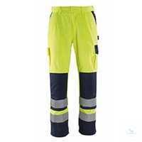 Bundhose Olinda 07179470-171 gelb-marine Größe 44 Die Hose ist fluoreszierend...