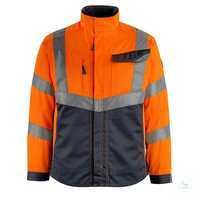 ArbeitsjackeOxford 15509-860-14010 hi-visorange-schwarzblau Größe S...