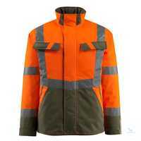Winterjacke Penrith 15935-126-1433 hi-vis orange-moosgrün Größe S...