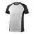 T-Shirt Potsdam 50567-959-0618 weiß-dunkelanthrazit Größe XS Zweifarbig....