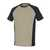 T-Shirt Potsdam 50567-959-5509 khaki-schwarz Größe XS Zweifarbig. Meterware...