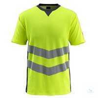 T-shirtSandwell 50127-933-17010 hi-visgelb-schwarzblau Größe S...
