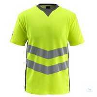 T-shirtSandwell 50127-933-1718 hi-visgelb-dunkelanthrazit Größe S...