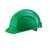 Schutzhelm EuroGuard 6-Punkt grün Modernes 5-Rippen-Design, gerade Helmform,...
