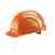 Schutzhelm EuroGuard 6-Punkt orange Modernes 5-Rippen-Design, gerade...