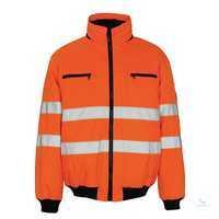 Pilotjacke St. Moritz 00534880-14 orange Größe S Fluoreszierend mit Reflexen....