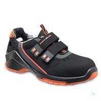 Sandale S1 VD PRO 1040 ESD orange Weite NB Größe 43 Sicherheitssandale S1....