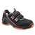 Sandale S1 VD PRO 1040 ESD orange Weite NB Größe 36 Sicherheitssandale S1....