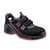 Sandale S1 VD PRO 1060 ESD rot Weite NB Größe 36 Sicherheitssandale S1....