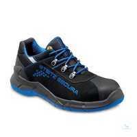 Halbschuh S2 VX PRO 7100 ESD Nubuk blau Weite NB Größe 36...