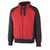 Kapuzensweatshirt Wiesbaden 50566-963-0209 rot-schwarz Größe XS...