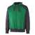Kapuzensweatshirt Wiesbaden 50566-963-0309 grün-schwarz Größe XS...