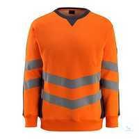 SweatshirtWigton 50126-932-14010 hi-visorange-schwarzblau Größe S...