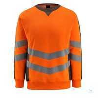 SweatshirtWigton 50126-932-1418 hi-visorange-dunkelanthrazit Größe S...
