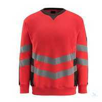 SweatshirtWigton 50126-932-22218 hi-visrot-dunkelanthrazit Größe S...