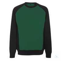 Sweatshirt Witten 50570962-0309 grün-schwarz Größe XS Zweifarbig. Gekämmte...