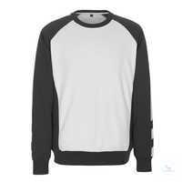 Sweatshirt Witten 50570962-0618 weiß-dunkelanthrazit Größe XS Zweifarbig....
