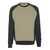 Sweatshirt Witten 50570962-5509 hellkhaki-schwarz Größe XS Zweifarbig....