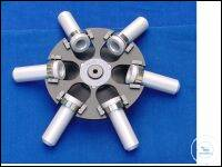 Swing out rotor for 6 x 5 ml round bottom tubes completely Swing out rotor...