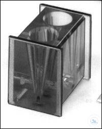 Zyto-Container mit 2 konischen Bohrungen, 3 ml