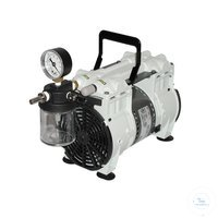 WOB-L Pump 2561, 54 l/min, 6.7 mbar The WOB-L® 2561 dry piston pump is ideal for pumping water...