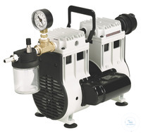 2Artículos como: WOB-L Pump 2581, 83 l/min, 6,7 mbar The WOB-L® 2581 dry piston pump is ideal...