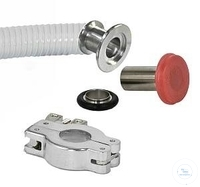 Hose adaptor Kit with Hose connector DN 10 and DN 20 Thick-walled rubber red...