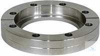 CF Welding Flanges Fixed, Stainless Steel Type DN 63 CF, A 77.0 mm, B 17.5...