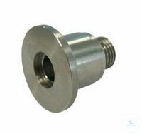 Inlet Fittings Type DN 16 KF - 1/4, PP, A 1/4 Inch / mm, B / C 9 / 9 mm, D 29...