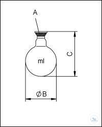 Rundkolben 500 ml KS 35