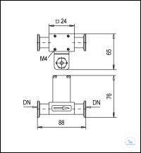 2Panašios prekės HV Through Valves Electromagnetically Operated with Small Nominal Width, PVDF...