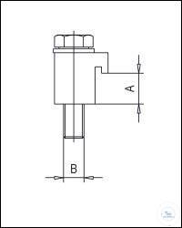 ISO-K-Pratze DN 63-100 mit langer Schraube Stahl verzinkt, Typ DN 63 bis DN...