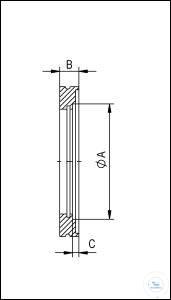 5Panašios prekės ISO-K Welding Flanges, Stainless Steel Type DN 63 ISO-K, A 76.1 mm, B 12 mm,...