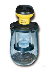 MG 1,0 Meßgefäß für OxiTop®-C Messgefäß 1000 ml für OxiTop®-C Zubehör: 1 x DV/MG Deckeladapter...